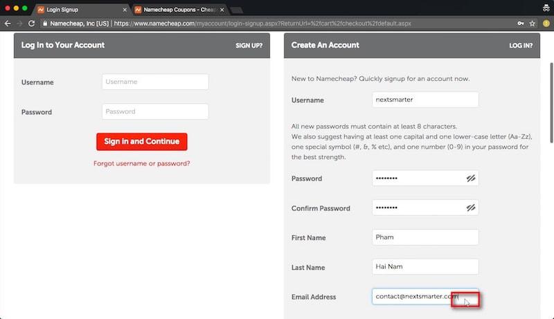 Hướng dẫn đăng ký hosting stablehost