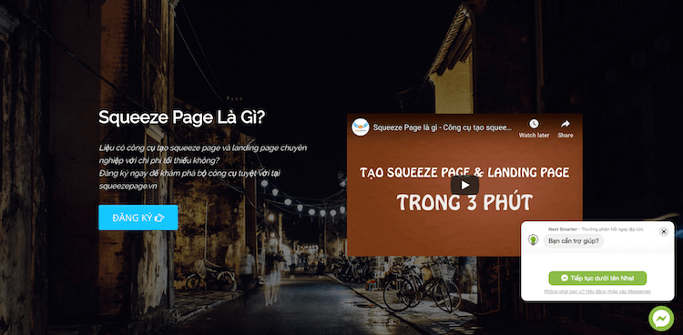 Công Cụ Marketing - SqueezePage.vn