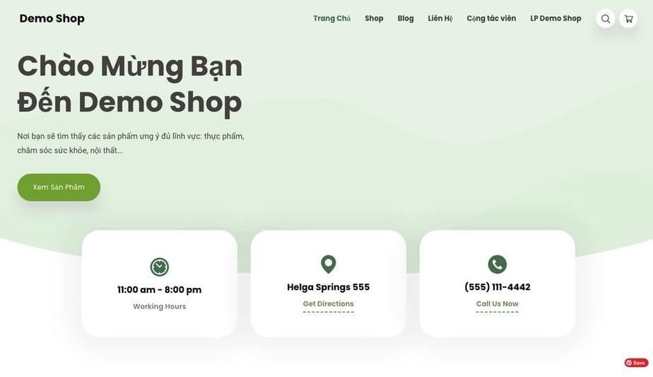 Affiliate solutions demo shop